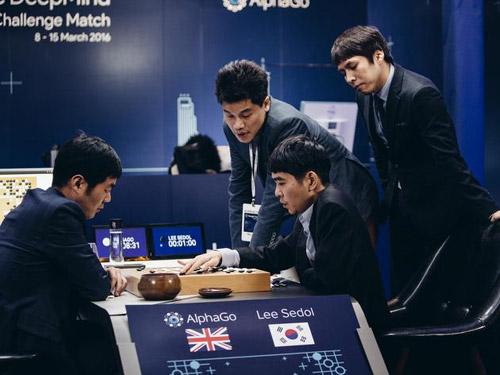 谷歌AlphaGo战胜围棋世界冠军李世石